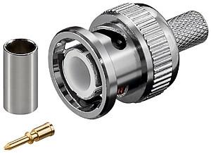BNC Crimpstecker für RG5x-Kabel