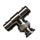 BNC T-Stück 1 x Stecker / 2 x Kupplung 50 Ohm